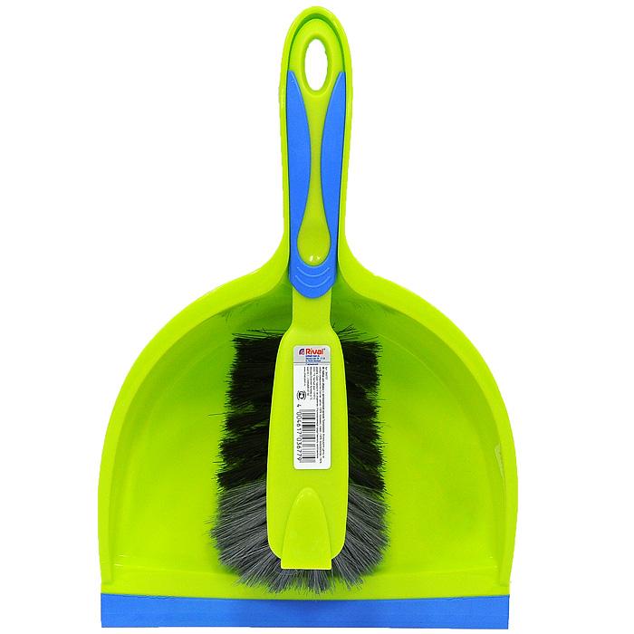 Набор для уборки Rival, 2 предмета, цвет: салатовый, голубой. 3K6707K100Набор для уборки Rival состоит из щетки и совка. Предметы набора изготовлены из высококачественного полипропилена. Щетка эффективно собирает грязь со всех видов полов. Благодаря резиновой кромке на совке он идеально прилегает к полу и позволяет легко сметать грязь и мусор на него.Удобный дизайн набора способствует качественной уборке. Торговая марка Rival нацелена на объединение таких важных составляющих продукта, как многофункциональность, привлекательный дизайн и эргономические качества. И ей это удается благодаря созданию новых технологий производства, разработке современных продуктов, качественных и простых в использовании. Характеристики:Материал: полипропилен, резина, полимекс. Общая длина щетки:28 см. Длина рабочей поверхности щетки:12 см. Длина щетины: 6 см. Размер рабочей поверхности совка:16,5 см х 21,5 см х 6,5 см. Длина ручки совка:14 см. Производитель:Германия. Артикул:3K6707. Gerhard Haas KG - это быстро растущая компания, которая специализируется на производстве метел, щеток и различных товаров из пластика для домашнего хозяйства. В настоящее время она является одним из ведущих производителей в этом секторе Германии и Европы. Основная концепция производства - ориентация на конечного потребителя, поэтому компания старается создать широкий спектр высококачественной продукции для уборки дома, кухни, ванной комнаты и сада. УВАЖАЕМЫЕ КЛИЕНТЫ! Товар поставляется в цветовом ассортименте. Поставка осуществляется в зависимости от наличия на складе.