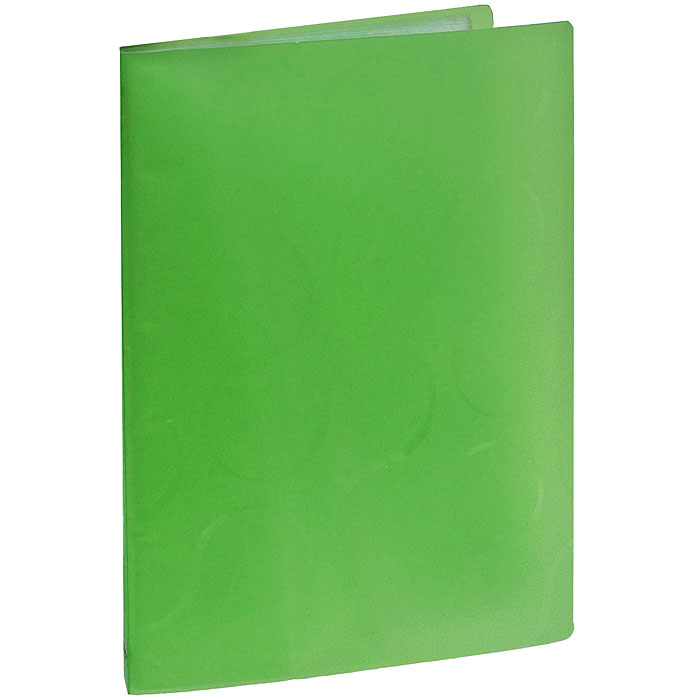 Папка с файлами Omega, 20 листов, цвет: зеленыйDR-FZA4-LСтильная папка Omega с файлами, выполненная из плотного полупрозрачного пластика зеленого цвета, станет незаменимым деловым аксессуаром. Папка оснащена 20 файлами для хранения документов и листов. Каждый файл обладает текстурной поверхностью, которая позволяет легко и быстро его открыть. Декоративный принт на обложке создаст яркий акцент на вашем рабочем столе. Характеристики:Размер папки: 23,5 см х 1,5 см х 30,5 см. Вместимость: 20 файлов. Цвет: зеленый.