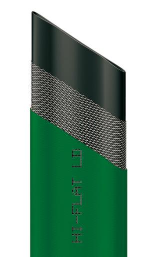 Шланг Hi-Flat LD, плоский, цвет: зеленый, 35 мм x 50 м96281496Плоский непрозрачный шланг Hi-Flat LD зеленого цвета изготовлен из ПВХ и армирован капроновой нитью. Шланг предназначен для транспортировки непищевой воды под давлением до 4 бар. Обладает высокой прочностью. Рабочая температура от -10°С до +50°С. Характеристики:Материал:ПВХ. Длина шланга:50 м. Диаметр шланга:35 мм. Максимальное давление:4 бар. Размер упаковки: 53 см х 6 см.