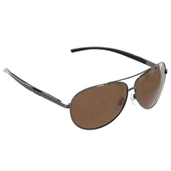 Солнцезащитные очки Pro Vision, универсальные, цвет: темно-серый. DC60472BBM8434-58AEСолнцезащитные поляризационные очки Pro Vision - универсальны и уникальны, они подходят как для вождения автомобиля, так и для туризма, рыбалки, спорта и активного образа жизни. Основные особенности очков Pro Vision: Не пропускают ультрафиолетовое излучение, которое крайне вредно для глаз;Блокируют блики;Способствуют улучшению цветоразличения даже в неспокойную погоду;Повышают контрастность зрения. Надев эти очки, вы сможете четко видеть пространство впереди себя. Оправа очков легкая и не создает никакого дискомфорта. Цвет линз - коричневый, оправа - темно-серая с черными вставками. Характеристики: Материал: пластик, металл. Ширина оправы: 14 см. Длина дужки: 13 см. Размер упаковки: 19 см x 8,5 см x 7,5 см. Изготовитель: Китай. Артикул:DC60472B.