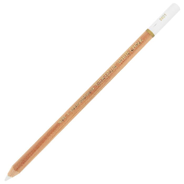 Мелок художественный Gloconda, цвет: белый8801Художественный мелок Gloconda белого цвета предназначен для художественных работ. Мел выполнен в виде карандаша в деревянном лакированном корпусе. Характеристики:Цвет: белый. Длина: 17,5 см. Диаметр мелка: 4,2 мм. Материал корпуса: дерево.