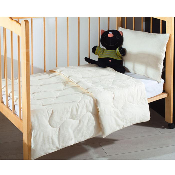 """Одеяло """"Fani/Фани"""" создано специально для детей! Одеяло """"Fani/Фани"""" с наполнителем из кашемира в чехле из нежного итальянского сатин-жаккарда (100% хлопок) молочного цвета с художественной стежкой, не только легкое и приятное на ощупь, но обладает уникальными оздоравливающими свойствами. Шерсть кашемира очень мягкая и легкая. Наполнитель отлично регулирует температуру во время сна. Изделия с кашемиром активно """"дышат"""", имея очень высокие показатели по воздухопроницаемости. Вашему ребенку будет комфортно спать в любое время года! УХОД: возможна не только ручная, но и бережная стирка в машине-автомате при температуре воды 30 градусов с использованием жидких моющих средств для изделий из шерсти. Изделие сушить в расправленном виде."""