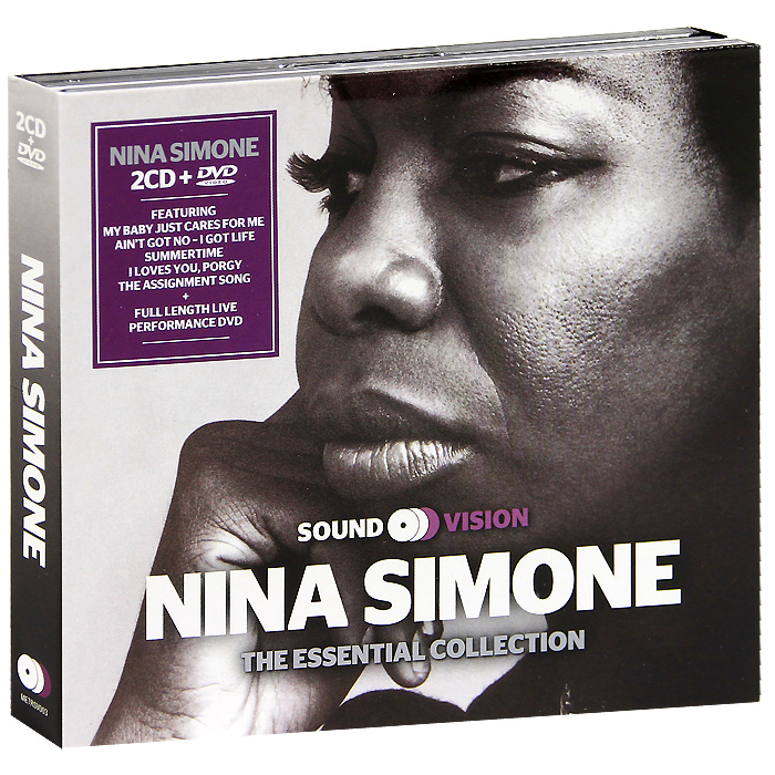 Нина Симон Nina Simone. The Essential Collection (2 CD + DVD)