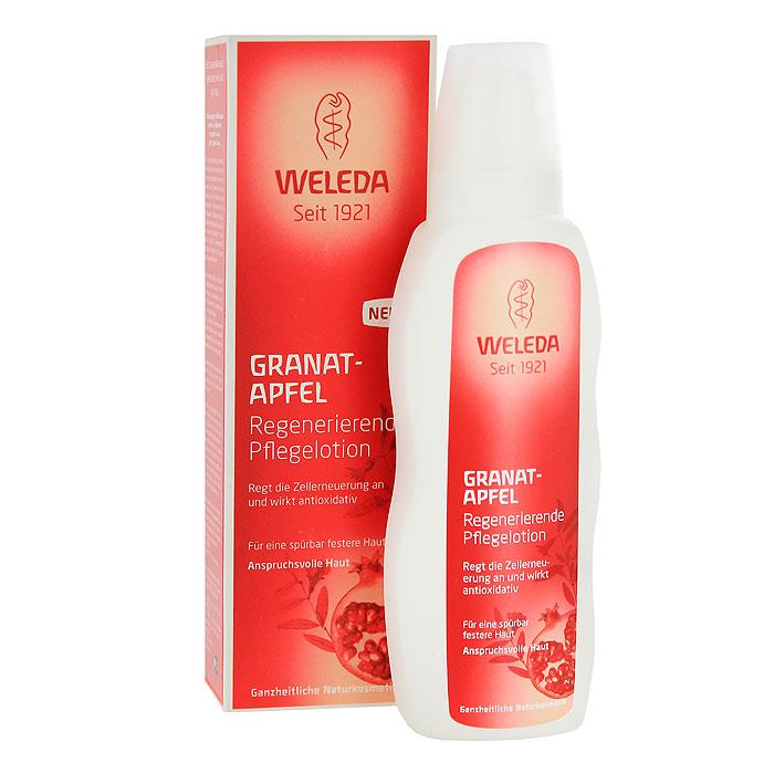 Молочко для тела Weleda Granat, восстанавливающее, 200 мл72523WDГранат - символ богатого и пряного Востока, король всех плодов, ведь его рубиновые зернышки наводят на мысль о россыпи переливающихся на солнце драгоценных камней. Гранат не просто красивый и вкусный фрукт: он вобрал в себя целый витаминно-минеральный комплекс и знаменит высоким содержанием антиоксидантов - главных помощников в борьбе за молодость и красоту увядающей кожи. Сочные гранаты для продукции Weleda выращиваются на юго-востоке Турции, в провинции Каппадокии. Для местного населения культивация этих фруктов является традиционным занятием: из года в год около 100 небольших фермерских хозяйств, расположившихся на территории 1000 га, производят для компании Weleda тонны ценнейшего гранатового масла из собранных вручную плодов. Ценное масло гранатовых косточек, входящее в состав 100% натурального регенерирующего гранатового молочка для тела Weleda, богато натуральными антиоксидантами, которые замедляют процесс старения и стимулируют регенерацию каждой клетки зрелой кожи. Масла ши и абрикоса насыщают кожу необходимым питанием и активизируют ее обменные процессы. Гранатовое молочко для тела Weleda эффективно повышает эластичность и упругость кожи, обеспечивая ей надежную защиту от негативного воздействия окружающей среды, активизирует регенерацию клеток кожи, повышая ее после месяца применения на 39%. А полиненасыщенные жирные кислоты, такие как редкая пунициновая кислота, поддерживают водный баланс кожи. Сочные нотки эфирных масел даваны, нероли и сандала придают средству экзотичный восточный аромат. Характеристики:Объем: 200 мл. Размер упаковки: 18,5 см х 5,5 см х 4 см. Изготовитель: Швейцария. Артикул: 8859. Товар сертифицирован.