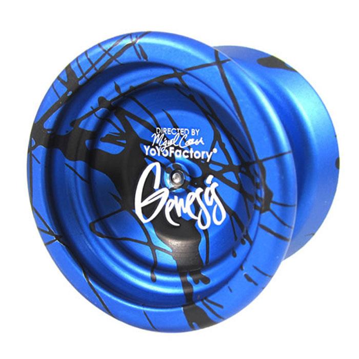 """Фото Йо-йо YoYoFactory """"Genesis"""", цвет: синий, коричневый. Покупайте с доставкой по России"""