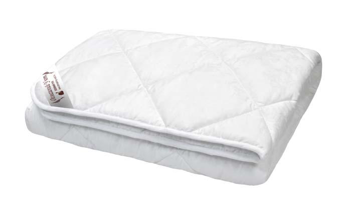 Одеяло стеганное, наполнитель: Лебяжий пух 200г/м, ткань: сатин хлопковый, цвет: белый,размер 200х22010503Одеяло стеганное, наполнитель: Лебяжий пух 200г/м, ткань: сатин хлопковый, цвет: белый,размер 200х220