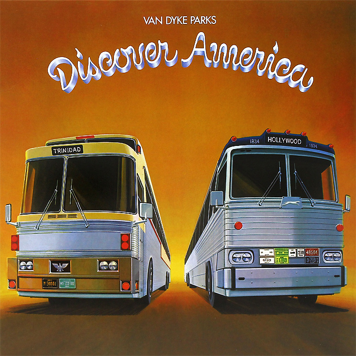 Ван Дайк Паркс Van Dyke Parks. Discover America (LP + CD) partners lp cd