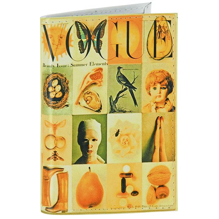 Визитница Vogue. VIZIT-058A52_108Визитница Vogue изготовлена из натуральной кожи с ярким принтом и надписью Vogue. Внутри находится съемный блок односторонних кармашков, рассчитанных на хранение 18 визиток или кредитных карт.Визитница станет отличным подарком человеку, ценящему практичные и стильные вещи, а качество его исполнения представит такой подарок в самом выгодном свете. Характеристики: Материал: натуральная кожа, пластик. Размер (в сложенном виде): 7,5 см х 10,5 см. Артикул:VIZIT58.