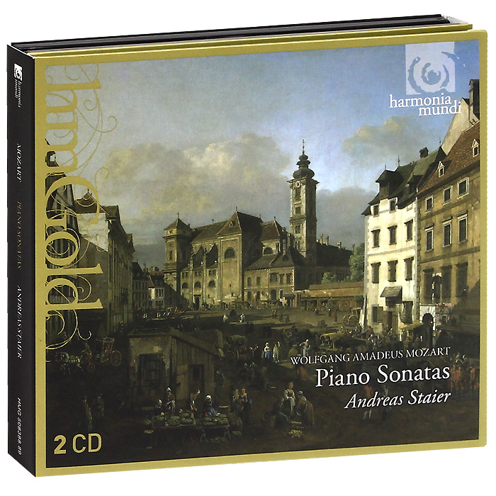 Андреас Стайер,Вольфганг Моцарт Andreas Staier. Mozart. Piano Sonatas (2 CD) andreas r prindl foreign exchange risk
