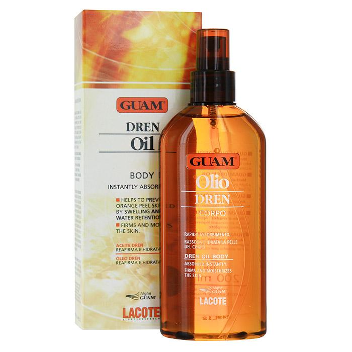 Масло против отеков Guam Dren, для массажа, 200 млFS-00897Благодаря легкой текстуре смягчает, разглаживает и тонизирует кожу. Идеально подходит для проведения лимфодренажного массажа после процедуры обертывания. Сочетание водорослей, комплекса растительных и эфирных масел, зеленого чая способствует улучшению микроциркуляции, предупреждению и снятию отечности, расщеплению жиров. Добавление масла против отеков в любой массажный крем обеспечивает более глубокое проникновение биологически активных веществ, наилучшее скольжение и дополнительную релаксацию за счет ароматерапевтического воздействия на организм. Рекомендуется использовать в банях и саунах.Применение: наносить массажными движениями до полного впитывания. Характеристики:Объем: 200 мл. Производитель: Италия. Артикул:0312. Товар сертифицирован.