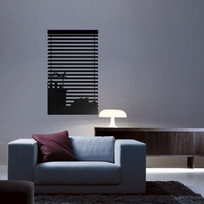 Стикер Paristic Ноктюрн № 1, цвет: черный, 43 х 26 смTHN132NСтикер Paristic Ноктюрн - это уникальная возможность создать неповторимый индивидуальный облик интерьера вашего дома. Стикер, изображающий окно, закрытое жалюзи, за которым виднеются силуэты домов, выполнен из матового винила - тонкого эластичного материала, который хорошо прилегает к любым гладким и чистым поверхностям, легко моется и держится до семи лет, при снятии не оставляет следов.Такой оригинальный элемент декора придаст интерьеру креативность и новое настроение и станет великолепным украшением, притягивающим заинтересованные взгляды окружающих.В комплекте со стикером предусмотрена подробная инструкция по наклеиванию (на русском языке). Характеристики: Материал:винил. Цвет:черный. Размер стикера (В х Ш): 43 см х 26 см. Размер упаковки: 48,5 см х 35 см.Производитель: Франция. Paristic - это стикеры высокого качества. Художественно выполненные стикеры, создающие эффект обмана зрения, дают необычную возможность использовать в своем интерьере элементы городского пейзажа. Продукция представлена широким ассортиментом - в зависимости от формы выбранного рисунка и от Ваших предпочтений стикеры могут иметь разный размер и разный цвет (12 вариантов помимо классического черного и белого). В коллекции Paristic - авторские работы от урбанистических зарисовок и узнаваемых парижских мотивов до природных и графических объектов. Идеи французских дизайнеров украсят любой интерьер: Paristic -это простой и оригинальный способ создать уникальную атмосферу как в современной гостиной и детской комнате, так и в офисе.В настоящее время производство стикеров Paristic ведется в России при строгом соблюдении качества продукции и по оригинальному французскому дизайну.