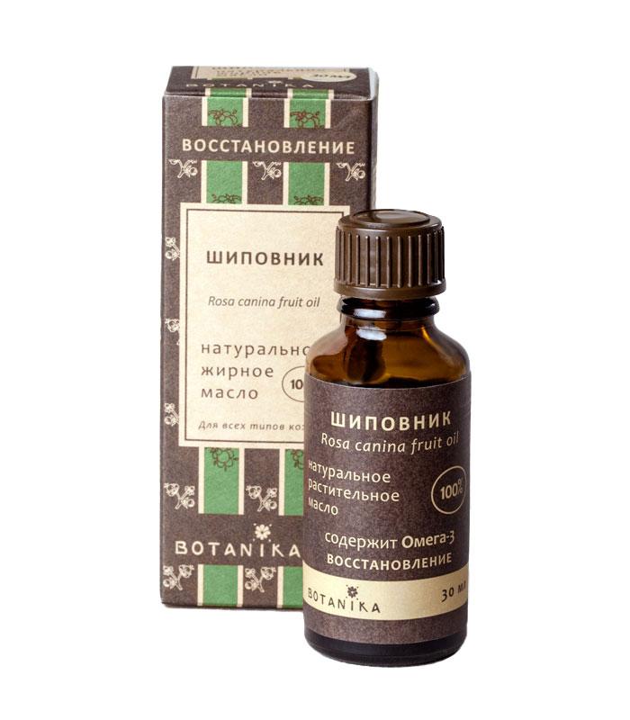 Жирное масло Botanika Шиповник, для всех типов кожи, 30 мл