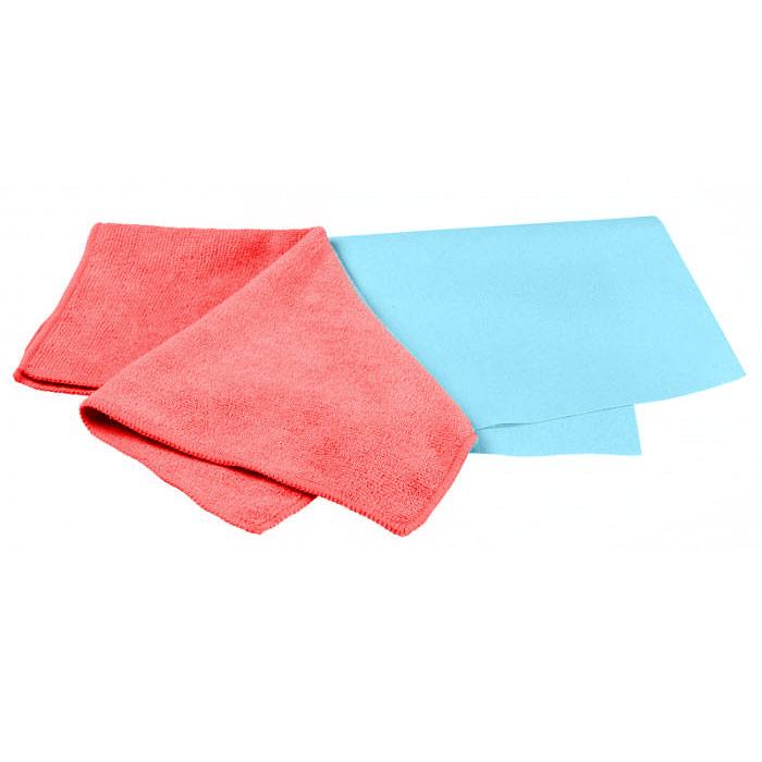 Набор салфеток для ухода за автомобилем Pingo, 40 х 36 см, 32 х 32 см, 2 штRC-100BWCСалфетки Pingo идеально подходят для чистки лобового стекла, пластика и хрома, обивки сидений и кузова автомобиля, для влажной и сухой уборки. Они отлично впитывают влагу, быстро и эффективно удаляют пыль и грязь. Могут применяться без использования дополнительных чистящих средств. Сильно загрязненную салфетку промыть в теплой воде. При стирке не использовать отбеливатель и смягчающие средства, не гладить. Набор включает две салфетки из микрофибры: гладкую и махровую. Характеристики: Материал: 70% полиэстер, 30% полиамид. Размер салфеток:40 см х 36 см; 32 см х 32 см. Производитель:Польша. Артикул:5844.