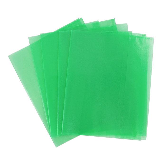 Обложка для тетрадей Panta Plast, формат А5, цвет: зеленый, 5 шт05-0075-5Обложка для тетрадей Panta Plast выполнена из высококачественного цветного пластика с текстурой поверхности типа апельсиновая корка. Она надежно защитит тетрадь от изнашивания и загрязнения. Характеристики:Размер обложки: 21 см x 34,8 см. Толщина пленки: 95 мкм.