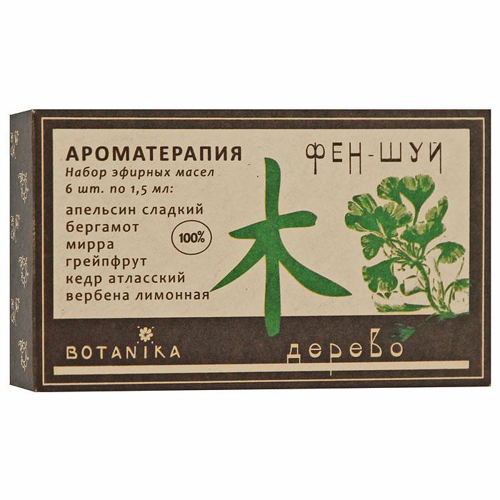 Набор эфирных масел Botanika Дерево, 6x1,5 мл28032022В набор Botanika Дерево входят 100% эфирные масла: апельсин сладкий, бергамот, вербена, грейпфрут, кедр атласский, мирра. Эти эфирные масла способствуют развитию, росту и расцвету, несут с собой мир и покой, являются антидотами стрессов, простуд, болезней. Снимают душевную боль, помогают разобраться в себе. Символизируют прибыль, гармонию в отношениях с окружающими, спокойствие, карьерный рост, жизнь и здоровье. Покровительствуют творчеству, семье. Развивают терпимость и интеллигентность. Характеристики:Объем: 6 x 1,5 мл. Производитель: Россия. Товар сертифицирован.