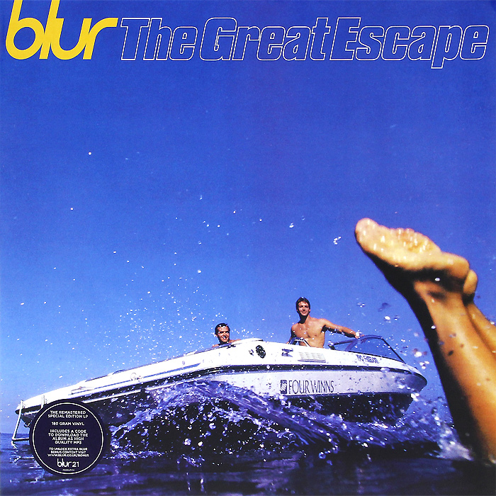 Blur Blur. The Great Escape (2 LP) louis armstrong and duke ellington the great reunion lp