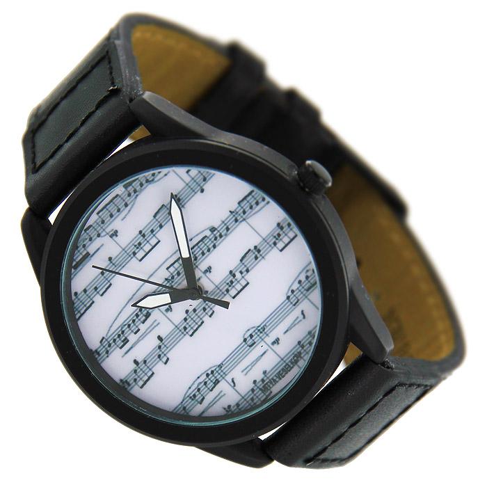 Часы Mitya Veselkov Ноты. MVBlack-04BM8434-58AEНаручные часы Mitya Veselkov Ноты созданы для современных людей. Часы оснащены японским кварцевым механизмом. Ремешок выполнен из натуральной кожи черного цвета, корпус изготовлен из стали серебристого цвета. Циферблат оформлен изображением нот на белом фоне. Характеристики: Материал: натуральная кожа, сталь. Стекло: минеральное. Механизм: Citizen. Длина ремешка (с корпусом): 23 см. Ширина ремешка: 2 см. Диаметр корпуса: 3,7 см. Размер упаковки: 8,5 см х 8,5 см х 6,5 см. Артикул: MVBlack4. Производитель: Россия. Идея компании Mitya Veselkov возникла совершенно случайно. Просто один творческий человек и талантливый организатор решил делать людям необычные часы. Затем родилась идея открыть магазин и дать другим людям возможность приобретения этого красивого продукта. Теперь Mitya Veselkov - перспективный коммерческий проект, создающий не только часы, но и сумки, подушки, футболки и даже запонки. Часы, вещи и сувениры от Mitya Veselkov - это вещи с изюминкой, которые ценны своим оригинальным дизайном.