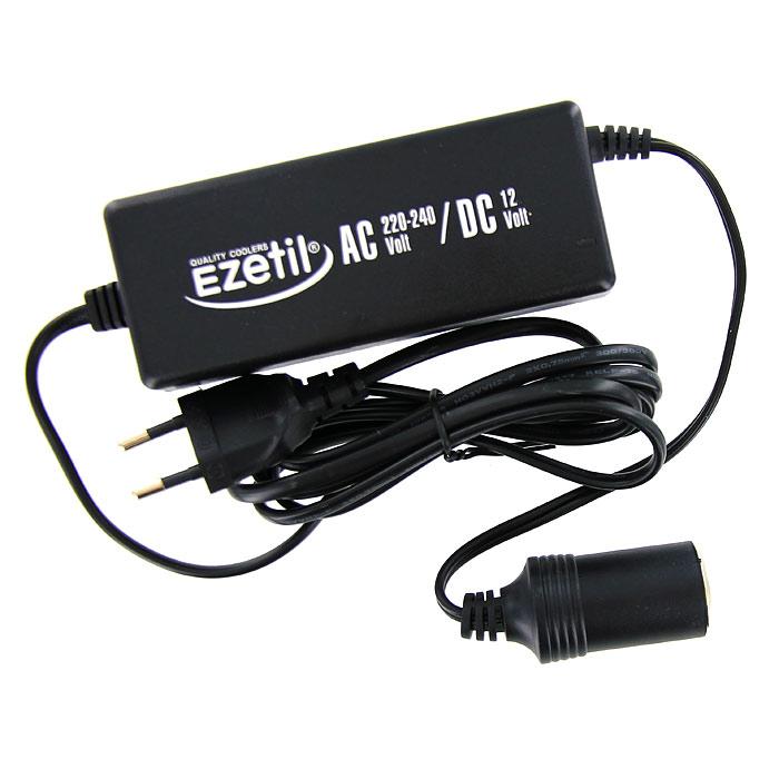 Адаптер сети переменного тока Ezetil для подключения автомобильных холодильниковTF-14AU-12Адаптер сети переменного тока Ezetil предназначен для подключения 12-ти вольтовых портативных холодильников к сети 220-240 В.Характеристики:Материал: пластик. Размер адаптера (без учета шнура):13 см х 5 см х 3,5 см. Входное напряжение: 220-240 В. Выходное напряжение:12 В. Выходной ток:6,0 А. Эффективность:>87%. Входная мощность:82 Вт. Выходная мощность:72 Вт.Вес: 350 г. Производитель: Германия. Изготовитель:Китай. Артикул: BSB2. Прилагается инструкция по эксплуатации на нескольких языках, в том числе на русском языке.