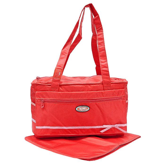 """Удобная сумка-термос Foogo """"Large Diaper Fashion Bag"""" предназначена специально для мам и малышей. Эта сумка не только отвечает требованиям сохранения температуры продуктов, преимущественно в режиме """"тепло"""", но и имеет много дополнительных отделений, позволяющих собрать всю необходимую экипировку для прогулки или поездки мамы и ребенка. Сумка-термос изготовлена с использованием передовой технологии многослойной изоляции Iso Tec Insulation из износостойких материалов, устойчивых к UV-излучению, безопасных в контакте с пищей и простых в уходе. Она состоит из одного изотермического отделения, закрывающегося на застежку-молнию, и из множества дополнительных отсеков и карманов на застежках-молниях и липучках. Сумка оснащена компактной не промокающей пеленкой и имеет две плечевые ручки для удобной переноски. Длительность работы сумки зависит от температуры окружающей среды, а также степени охлаждения или заморозки продуктов. Для обеспечения наиболее продолжительной..."""