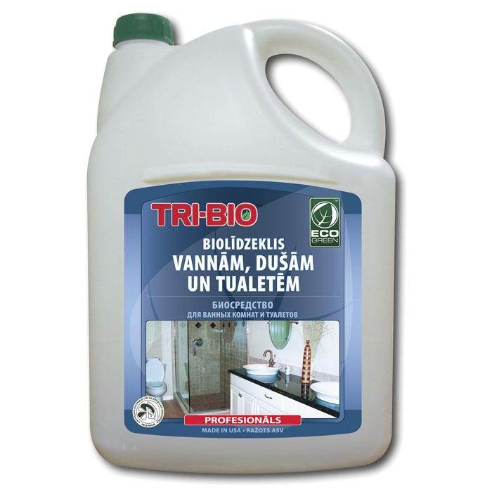 Биосредство для ванных комнат и туалетов  Tri-Bio , 4,4 л - Бытовая химия