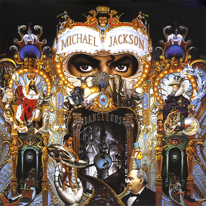 Майкл Джексон Michael Jackson. Dangerous (2 LP) туфли michael michael kors michael michael kors mi048awuwp75