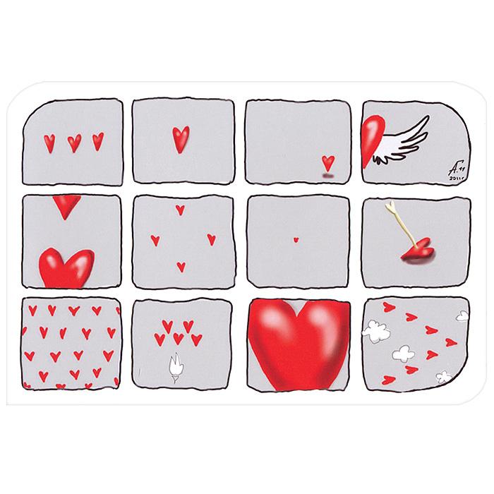 Открытка Сердечко. Ручная авторская работа. IL032Брелок для ключейАвторская открытка станет необычным и ярким дополнением к подарку дорогому и близкому вам человеку или просто добавит красок в серые будни. Открытка оформлена изображением сердечек. Обратная сторона открытки не содержит текста, что позволит вам самостоятельно написать самые теплые и искренние пожелания. Характеристики: Автор: Vsegdaestpovod. Размер:15 см х 10 см. Материал: бумага. Артикул: Il-32.