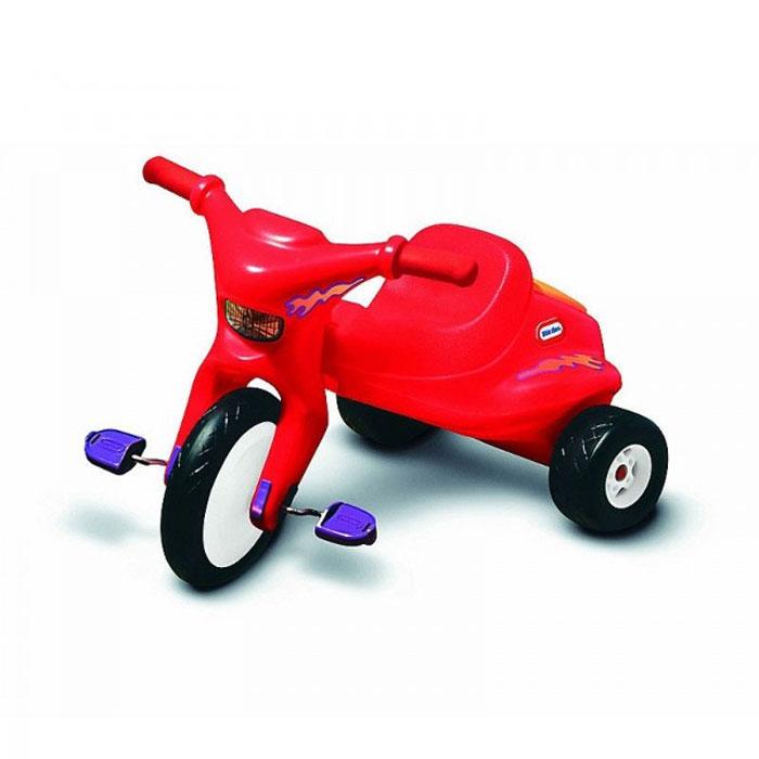Трехколесный велосипед Little Tikes, цвет: красный. 4783121TWIST.BK7Трехколесный велосипед Little Tikes выполнен из высококачественного материала яркого красного цвета, он отлично ездит по гравию, неасфальтированным дорожкам и другим неровным поверхностям. Велосипед оборудован удобным сиденьем, передним большим и двумя маленькими задними колесами. За сиденьем расположен контейнер, крышка которого открывается при необходимости. Благодаря рифленым педалям, ножки вашего ребенка будет крепко держаться и не соскальзывать.С таким велосипедом катание малыша станет веселее и увлекательнее. Характеристики:Материал: металл, пластик. Ширина сиденья: 20 см. Диаметр переднего колеса: 39 см. Диаметр задних колес: 18 см. Размер велосипеда: 102 см х 76 см х 48 см. Размер упаковки: 58 см до 45 см х 45 см.