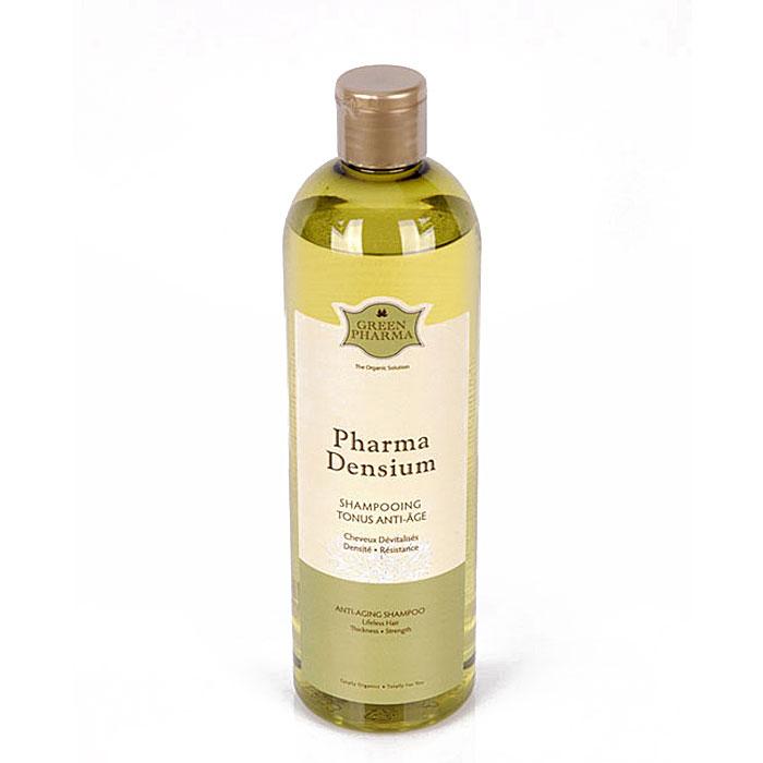 """Шампунь Greenpharma """"Pharma Densium"""", препятствующий старению, придающий тонус, объем и защищающий волосы, 500 мл"""
