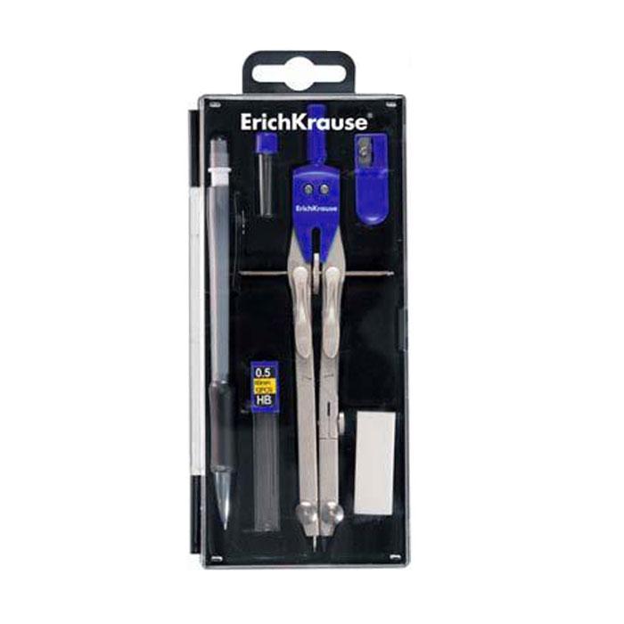 Готовальня Unimax, 6 предметов72523WDПрофессиональная готовальня Unimax для продвинутых пользователей включает в себя шесть предметов: точный циркуль, контейнер с запасными стержнями для циркуля, механический карандаш, контейнер с запасными грифелями для механического карандаша, ластик, точилка. Циркуль выполнен из цинкового сплава с пластиковым держателем и оснащен двумя сгибаемыми ножками, выдвижным удлинителем, колесиком и нажимным механизмом. Благодаря высокому качеству материалов и сборки, надежные чертежные инструменты прослужат вам много лет. Отличный выбор и для учащихся, и для профессионалов. Предметы упакованы в пластиковый футляр с прозрачной крышкой. Характеристики:Материал: металл, пластик, грифель. Длина циркуля: 17 см. Длина карандаша: 14,5 см. Размер упаковки:17,5 см х 7,5 см х 2 см. Изготовитель: Китай.