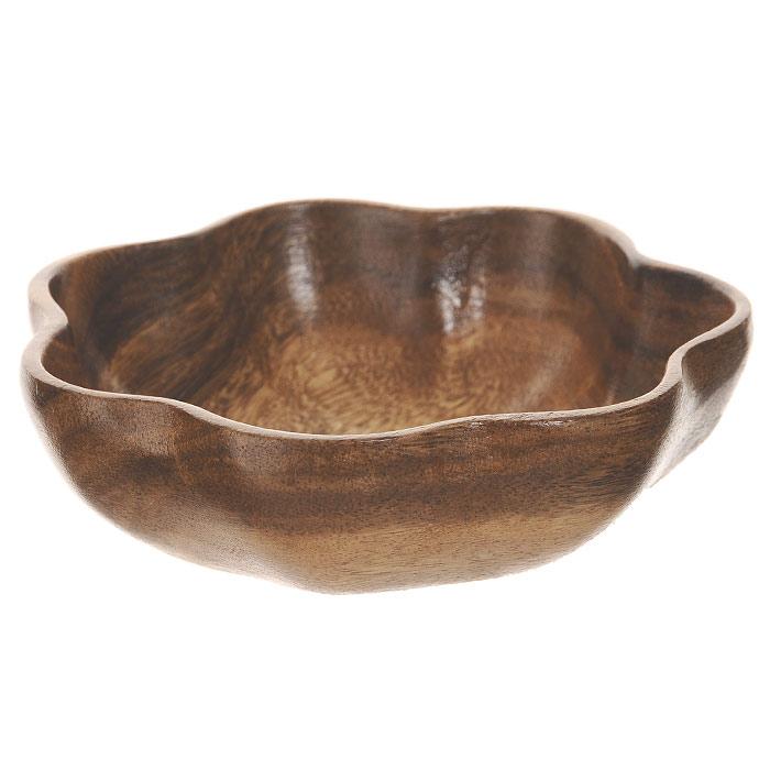 Салатница Oriental Way Oriental way Кармэн, 25см WD-46121115510Фигурная салатница Oriental Way Кармэн выполнена из высококачественного дерева. Она подходит как для холодных закусок, так и для масляных салатов. Салатница покрыта пищевым лаком, совершенно нетоксичным и безвредным для здоровья. Лак препятствует впитыванию влаги в изделие, тем самым продлевает срок его службы. Выбирая для дома посуду из дерева, вы получаете не только безопасность и уют натуральных материалов, но и высокое качество изделий. Оригинальный дизайн салатницы Oriental Way Кармэн придется по вкусу и ценителям классики, и тем, кто предпочитает утонченность и изысканность. Такая салатница настроит на позитивный лад и подарит хорошее настроение всем, кто любит готовить.Особенности салатницы Oriental Way:- сделана из природного материала; - гармонирует с любым интерьером; - долгий срок службы; - не впитывает влагу; - не впитывает запахи; - нельзя мыть в посудомоечной машине. Характеристики:Материал: дерево. Диаметр салатницы: 25 см. Высота салатницы: 8 см. Производитель: Филиппины. Артикул: WD-46121.