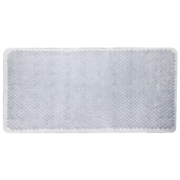 Коврик для ванной Vortex Травка, противоскользящий, цвет: прозрачный, 65 х 36 см790009Коврик Vortex Травка, изготовленный из ПВХ, предназначен для использования в ванной комнате и душевой кабине против скольжения. Коврик крепится на дно ванны с помощью небольших присосок. Благодаря рельефной поверхности, коврик предотвращает скольжение и исключает возможность падения в ванне.