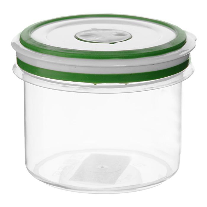 Контейнер для СВЧ NeoWay Simple control круглый, 0,35 л94672Круглый контейнер для СВЧ NeoWay Simple control выполнен из сочетания твердого и мягкого пластика, абсолютно безопасного для использования с пищевыми продуктами. Контейнер имеет инновационную крышку, обеспечивающую абсолютную герметичность и водонепроницаемость, не пропускает влагу и запахи, долго сохраняет свежесть продуктов. На крышке есть клапан для выпуска пара и антискользящие вставки для устойчивого вертикального хранения.Контейнер подойдет не только для разогревания продуктов в печи СВЧ, но и для хранения продуктов, в том числе в холодильной и морозильной камерах. Контейнер выдерживает температуру в диапазоне от -20°C до +120°, его можно мыть в посудомоечной машине и нельзя греть пустым и в режиме гриль. Характеристики:Материал: полипропилен. Объем контейнера: 0,35 л. Диаметр контейнера: 9 см. Высота контейнера (без учета крышки): 7,5 см. Производитель: Китай. Артикул: GL9059.