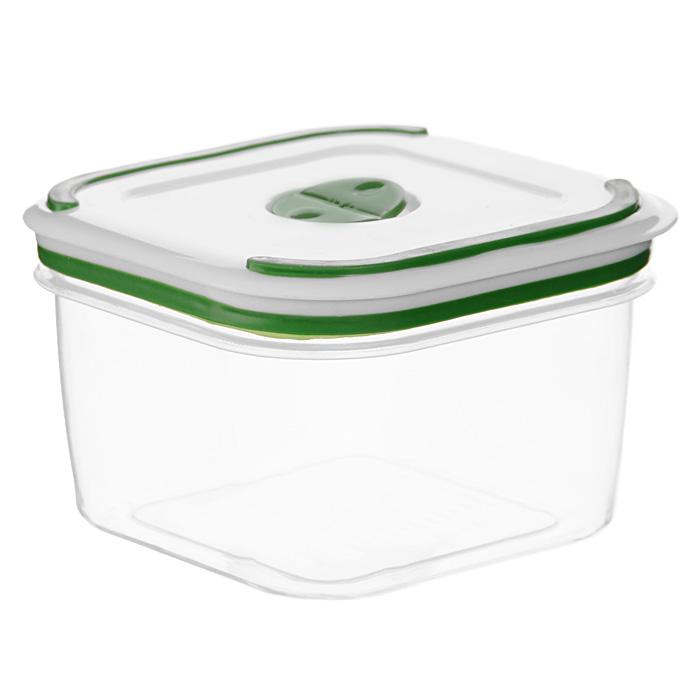 Контейнер для СВЧ NeoWay Simple control квадратный, 0,65 л630634Квадратный контейнер для СВЧ NeoWay Simple control выполнен из сочетания твердого и мягкого пластика, абсолютно безопасного для использования с пищевыми продуктами. Контейнер имеет инновационную крышку, обеспечивающую абсолютную герметичность и водонепроницаемость, не пропускает влагу и запахи, долго сохраняет свежесть продуктов. На крышке есть клапан для выпуска пара и антискользящие вставки для устойчивого вертикального хранения.Контейнер подойдет не только для разогревания продуктов в печи СВЧ, но и для хранения продуктов, в том числе в холодильной и морозильной камерах. Контейнер выдерживает температуру в диапазоне от -20°C до +120°, его можно мыть в посудомоечной машине и нельзя греть пустым и в режиме гриль. Характеристики:Материал: полипропилен. Объем контейнера: 0,65 л. Размер контейнера: 11 см х 11 см. Высота контейнера (без учета крышки): 7,5 см. Производитель: Китай. Артикул: GL9004.