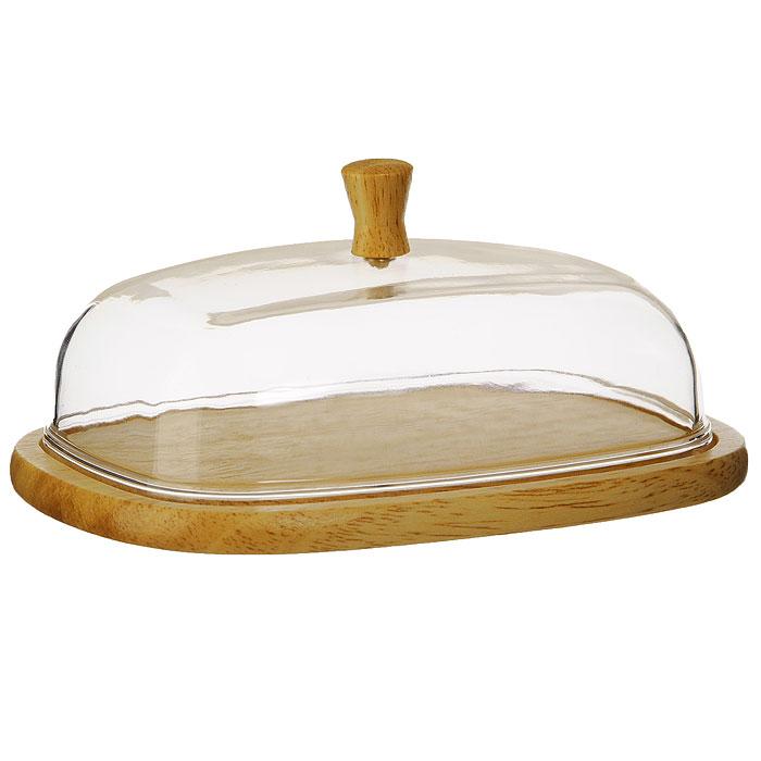 Масленка Oriental Way C7010115510Масленка Oriental way, выполненная из высококачественной древесины гевеи и пластика, предназначена для красивой сервировки и хранения масла. Она состоит из деревянного подноса и прозрачной пластиковой крышки с деревянной ручкой. На подносе имеются специальные выемки, благодаря которым крышка легко на него устанавливается.Благодаря такой масленке ваше масло всегда будет свежим.Особенности масленки Oriental Way:- сделана из природного материала; - гармонирует с любым интерьером; - долгий срок службы; - не впитывает влагу; - не впитывает запахи; - нельзя мыть в посудомоечной машине. Характеристики:Материал: гевея, пластик. Размер подноса: 17 см х 13 см х 1 см. Размер крышки:15,3 см х 11,3 см х 5,5 см. Размер упаковки:18 см х 13,5 см х 6,5 см. Производитель: Китай. Артикул: C7010.
