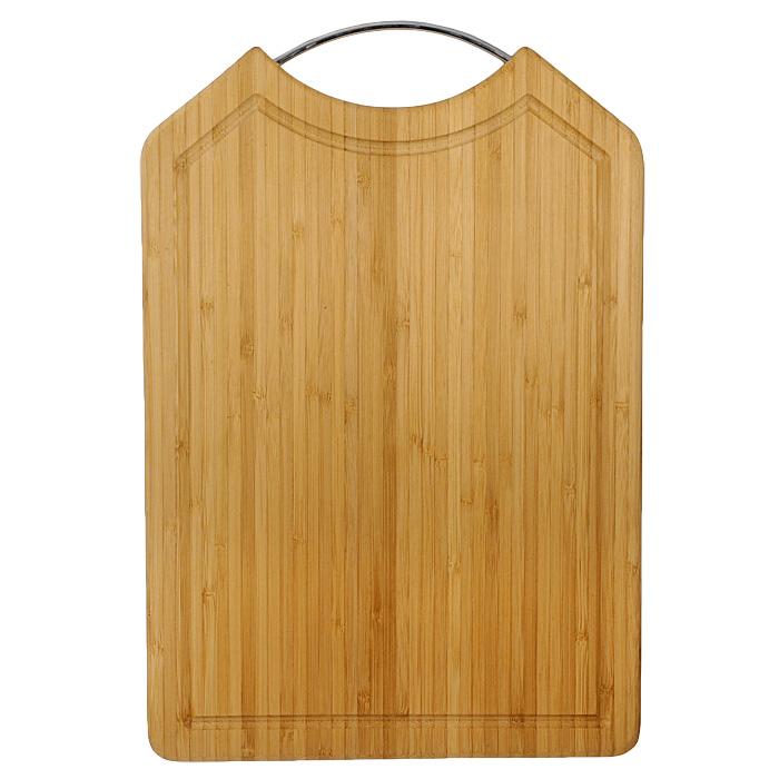 Доска разделочная Oriental way 40 х 28см BC6041115510Прямоугольная разделочная доска Oriental way с ручкой из нержавеющей стали изготовлена из высококачественной древесины бамбука. Доска прекрасно подходит для приготовления и сервировки пищи.Особенности разделочной доски Oriental way:сделана из природного материала,гармонирует с любым интерьером, высокое качество шлифовки поверхности, двухслойное покрытие пищевым лаком, безопасным для здоровья человека, степень влажность 8-10%, не трескается и не рассыхается, высокая плотность структуры древесины, устойчива к механическим воздействиям,долгий срок службы,не впитывает влагу и запахи, не предназначена для мытья в посудомоечной машине. Характеристики: Материал: бамбук, нержавеющая сталь. Размер доски:40 см х 28 см. Толщина доски:1,6 см. Производитель: Китай. Артикул: BC6041. Торговая марка Oriental way известна на рынке с 1996 года. Эта марка объединяет товары для кухни, изготовленные из дерева и других материалов. Все товары марки Oriental way являются безопасными для здоровья, экологичными, прочными и долговечными в использовании.