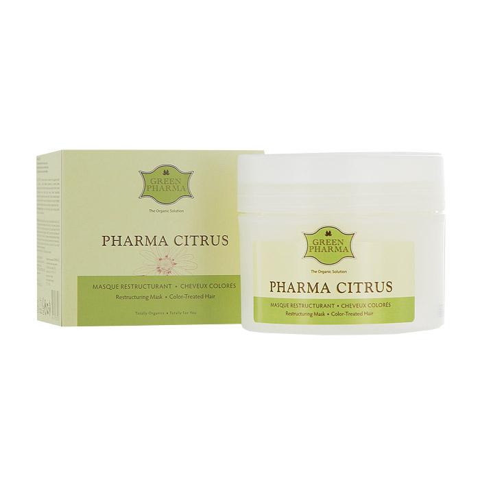 Маска Greenpharma Pharma Citrus восстанавливающая и питательная, для волос, подвергшихся окрашиванию или химической завивке, с растительными маслами и экстрактом грейпфрута, 250 млFS-00897Восстанавливающая питательная маска Greenpharma Pharma Citrus для волос, подвергшихся окрашиванию или химической завивке, с растительными маслами и экстрактом грейпфрута обеспечивает стимуляцию и восстанавливает блеск, поддерживая красоту волос, высушенных в результате окрашивания, обесцвечивания или химической завивки. Регенерирующие и питательные свойства растительных масел иллипа и карите в сочетании с глубоким восстанавливающим действием протеинов сладкого миндаля позволяют нормализовать поврежденную структуру кератина и вернуть волосам упругость. Уставшие от химических процедур волосы становятся шелковистыми и эластичными. В состав маски входит также экстракт грейпфрута, который разглаживает поверхностные чешуйки волос, фиксирует цвет и возвращает волосам блеск. Способ применения: распределить маску на отжатые влажные волосы при помощи расчески. Оставить на 2-5 минут. Тщательно смыть.Компания GreenPharma S.A.S. - лидер инновационных разработок в области косметологии. Вы хотите вдохнуть жизнь в ослабленные, проблемные волосы и сделать их сильными, пышными и блестящими? Это сделать легко, используя силу натуральных эфирных масел и экстрактов растений. Широкий спектр продуктов по уходу за волосами компании GreenPharma позволяет решить практически любую проблему волос и кожи головы: от чрезмерного выпадения волос до сохранения цвета окрашенных волос. Высокая концентрация натуральных эфирных масел способствует эффективному очищению кожи головы, стимулирует микроциркуляцию крови, останавливает выпадение волос, регулирует себоотделение, что, в свою очередь, укрепляет и оздоравливает волосы. Нет плохих волос, а есть волосы, за которыми плохо ухаживают, красивые волосы начинаются со здоровой кожи головы. Линия ухода за волосами GreenPharma решает практически все проблемы волос и кожи г