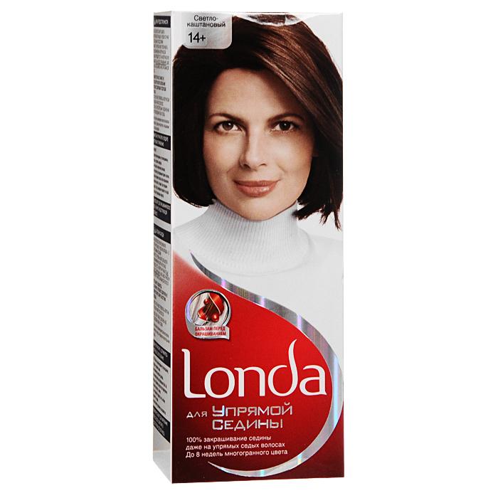 Крем-краска для волос Londa, для упрямой седины, 14+. Светло-каштановый601Хотите избавиться от упрямой седины? Крем-краска для волос Londa идеально вам подойдет. Седые волосы имеют жесткую текстуру, поэтому они трудно поддаются прокрашиванию. Эта крем-краска специально разработана для направленного действия на самые неподдающиеся седые волосы. Это возможно благодаря действию эксклюзивному бальзаму перед окрашиванием, который помогает восстановить текстуру ваших волос для лучшего впитывания краски. Таким образом, краска проникает внутрь волоса и остается там. Результат: 100% закрашивание седины, до 8 недель стойкого цвета, многогранный цвет, естественный вид. Характеристики:Номер краски: 14+. Цвет: светло-каштановый. Проявитель: 50 мл. Крем-краска: 50 мл. Бальзам: 10 мл. Производитель: Россия. В комплекте: 1 тюбик с краской, 1 тюбик с проявителем, 1 пакетик с бальзамом перед окрашиванием, 1 пара перчаток, инструкция по применению. Товар сертифицирован.Внимание!Продукт может вызвать аллергическую реакцию, которая в редких случаях может нанести серьезный вред вашему здоровью. Проконсультируйтесь с врачом-специалистом перед применением любых окрашивающих средств.