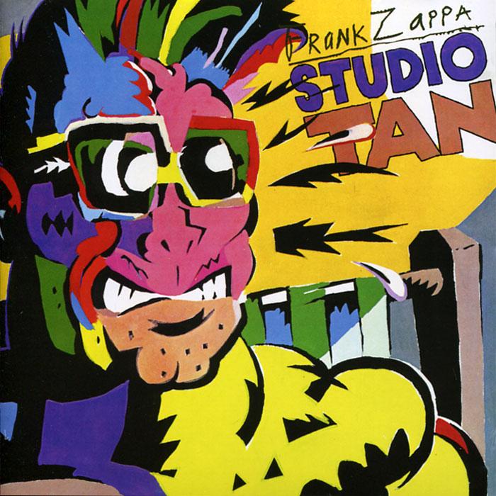 Фрэнк Заппа Frank Zappa. Studio Tan frank zappa gold record signature series ltd edition display