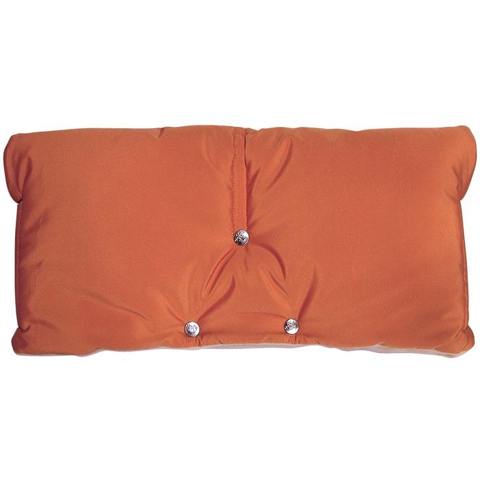 """Муфта для рук на коляску """"Чудо-Чадо"""", флисовая, цвет: оранжевый. МКФ02-001, ИП Ярошенко Л.В."""