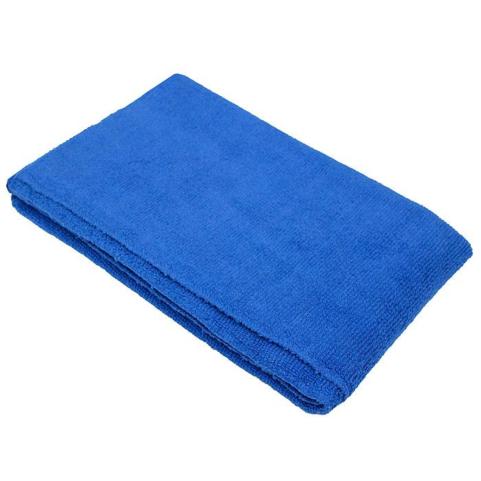 Тряпка для пола Eva, цвет: синий, 50 х 60 см10503Тряпка для пола Eva выполнена из микрофибры (полиэстера и полиамида).Благодаря микроструктуре волоконона проникает в поры материалов, а поэтому может удалять загрязнения безприменения химических средств. Тряпка удерживает влагу, не оставляетразводов иворса.Размер: 50 см х 60 см.