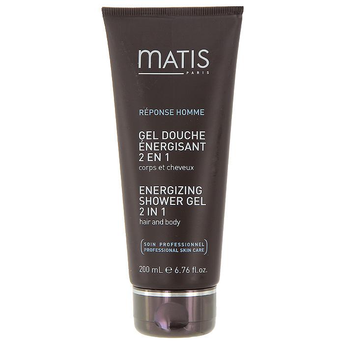 Гель для тела и волос Matis, энергетический, 200 млAC-2233_серыйЭнергетический гель для тела и волос Matis очищает кожу и волосы, не нарушая естественного баланса, благодаря мягкой моющей основе. Дарит энергию и восстанавливает благодаря мультиминеральному коктейлю (магний, медь, цинк). Укрепляет и защищает благодаря провитамину В5. Характеристики:Объем: 200 мл. Производитель: Франция. Товар сертифицирован.