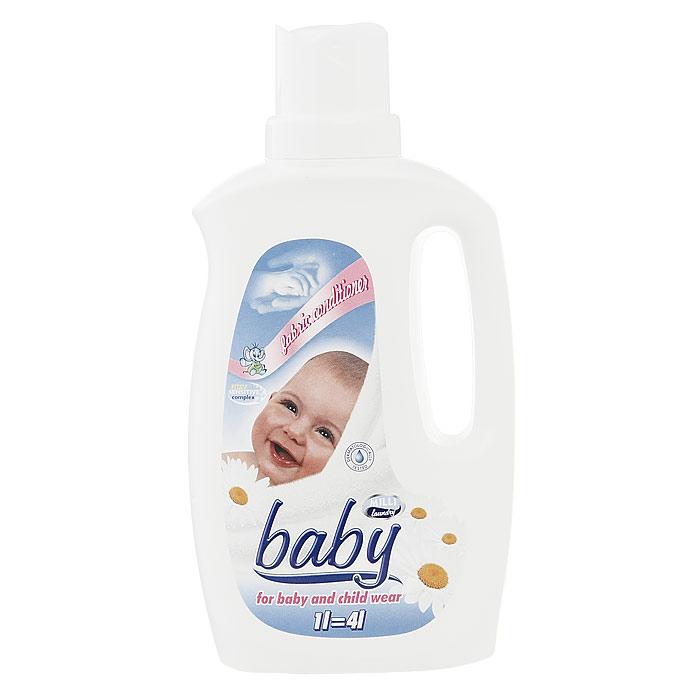 """Концентрированный кондиционер-ополаскиватель """"Milli baby"""" делает белье мягким для глажения и придает приятный аромат. Нежный и гиппоалергенный - он идеально подходит для белья новорожденных, детского белья и одежды. Протестирован дерматологами Национального Центра Здоровья.   Характеристики:Объем: 1 л. Товар сертифицирован."""