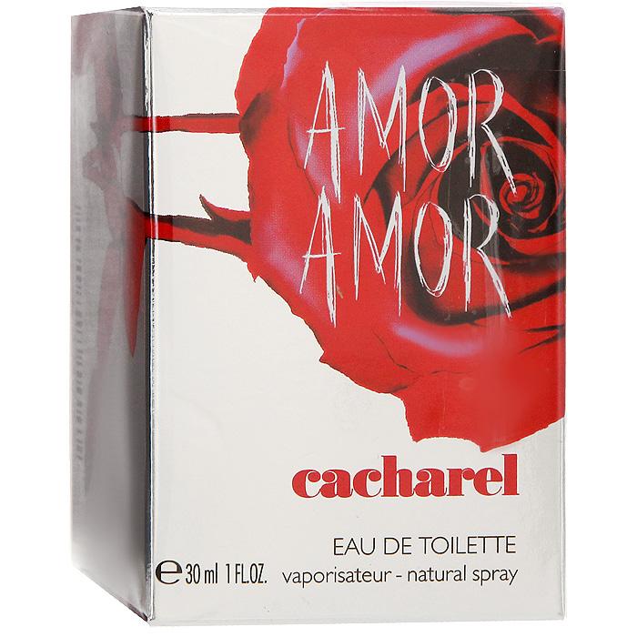 Cacharel Amor Amor. Туалетная вода, женская, 30 мл1301210Cacharel Amor Amor - цветочно-фруктовый аромат с ярко выраженной ноткой красной розы, символом пламенной любви и жгучей страсти. Такой темпераментный, задорный и страстный, этот новый парфюмерный шедевр не оставит без внимания пылких искусительниц. Amor Amor подарит своей обладательнице чувство нескончаемого счастья, а шлейф, оставленный после нее, еще долгое время будет восхищать прохожих. Флакон ярко-красного цвета помещен в серебристую коробку с отпечатком розы. Аромат подойдет всем молодым духом женщинам, готовых любить и быть любимыми.Классификация аромата: фруктовый, цветочный.Верхние ноты: черная смородина, корсиканский апельсин, мандарин, кассия, грейпфрут, бергамот.Ноты сердца:абрикос, лилия, жасмин, ландыш, роза.Ноты шлейфа:амбра, бобы тонка, ваниль, виргинский кедр, мускус.Ключевые слова:Мягкий, нежный, страстный, чувственный! Характеристики:Объем: 30 мл. Производитель: Франция. Туалетная вода - один из самых популярных видов парфюмерной продукции. Туалетная вода содержит 4-10%парфюмерного экстракта. Главные достоинства данного типа продукции заключаются в доступной цене, разнообразии форматов (как правило, 30, 50, 75, 100 мл), удобстве использования (чаще всего - спрей). Идеальна для дневного использования. Товар сертифицирован.