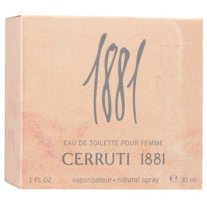 Cerruti Туалетная вода 1881 Pour Femme, 30 млFM 5567 weis-grauCerruti 1881 Pour Femme - воздушный, тонкий, нежный, неуловимый аромат. Аромат был создан великим мастером на основе его нового изобретения: эфирного масла льна, материала, традиционно используемого семьей в производстве тканей на естественной основе.Классификация аромата: цветочный.Верхние ноты: фрезия, ландыш, бергамот, мимоза, фиалка, роза.Ноты сердца:цветок апельсинового дерева, ромашка, герань, кориандр, ирис, жасмин.Ноты шлейфа:сандал, амбра, мускус.Ключевые слова:Страстный, теплый, тонкий, изысканный!Туалетная вода - один из самых популярных видов парфюмерной продукции. Туалетная вода содержит 4-10%парфюмерного экстракта. Главные достоинства данного типа продукции заключаются в доступной цене, разнообразии форматов (как правило, 30, 50, 75, 100 мл), удобстве использования (чаще всего - спрей). Идеальна для дневного использования. Товар сертифицирован.