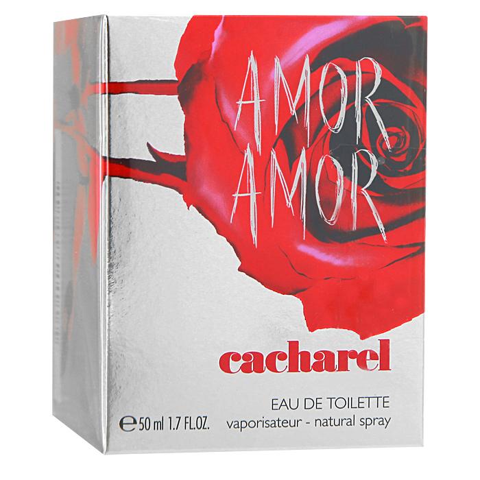 Cacharel Amor Amor. Туалетная вода, женская, 50 мл65602303000Cacharel Amor Amor - цветочно-фруктовый аромат с ярко выраженной ноткой красной розы, символом пламенной любви и жгучей страсти. Такой темпераментный, задорный и страстный, этот новый парфюмерный шедевр не оставит без внимания пылких искусительниц. Amor Amor подарит своей обладательнице чувство нескончаемого счастья, а шлейф, оставленный после нее, еще долгое время будет восхищать прохожих. Флакон ярко-красного цвета помещен в серебристую коробку с отпечатком розы. Аромат подойдет всем молодым духом женщинам, готовых любить и быть любимыми.Классификация аромата: фруктовый, цветочный.Верхние ноты: черная смородина, корсиканский апельсин, мандарин, кассия, грейпфрут, бергамот.Ноты сердца:абрикос, лилия, жасмин, ландыш, роза.Ноты шлейфа:амбра, бобы тонка, ваниль, виргинский кедр, мускус.Ключевые слова:Мягкий, нежный, страстный, чувственный! Характеристики:Объем: 50 мл. Производитель: Франция. Туалетная вода - один из самых популярных видов парфюмерной продукции. Туалетная вода содержит 4-10%парфюмерного экстракта. Главные достоинства данного типа продукции заключаются в доступной цене, разнообразии форматов (как правило, 30, 50, 75, 100 мл), удобстве использования (чаще всего - спрей). Идеальна для дневного использования. Товар сертифицирован.