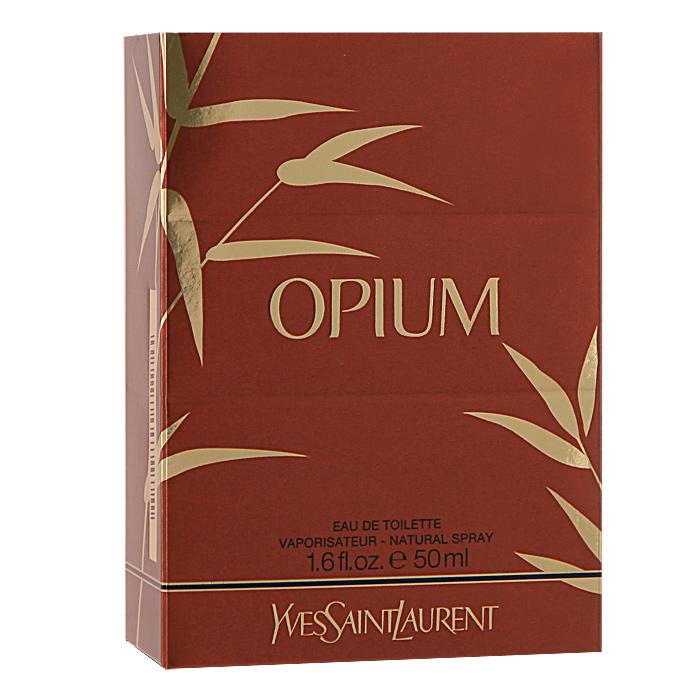 Yves Saint Laurent Opium. Туалетная вода, женская, 50 мл