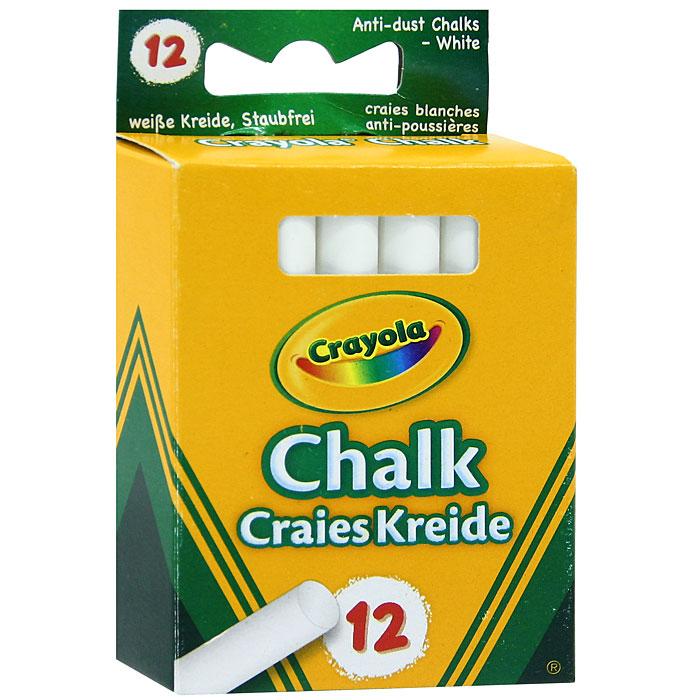 Мелки белые Crayola, неосыпающиеся, 12 штFS-00101Белые школьные мелки Crayola изготовлены из экологически безопасных материалов, они не образуют пыли и не рассыпаются. Это особенно важно для детей, склонных к аллергическим реакциям. Набор оценят и школьные учителя, которым приходится постоянно иметь дело с мелом. Crayola - это английская компания, которая занимается производством различных детских канцелярских принадлежностей и наборов для детского творчества, является одним из мировых лидеров данной продукции. Характеристики: Длина мелка: 8 см. Диаметр мелка: 0,9 см. Размер упаковки: 6 см х 2 см х 8,2 см. Изготовитель: Иордания.