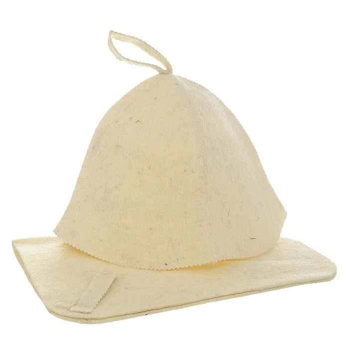 Набор для бани и сауны Нot Pot: шапка, коврикNLED-420-1.5W-WНабор для бани и сауны Нot Pot, выполненный из войлока белого цвета, незаменим для любителей попариться в русской бане и для тех, кто предпочитает сухой жар финской бани.В набор входят все необходимые аксессуары, для того чтобы банный поход принес вам только радость. Набор состоит из коврика и шапки. Шапка - незаменимая вещь в парной. Она необходима для того, чтобы не перегреть голову, также она должна хорошо впитывать влагу. Коврик убережет вас от горячей полки, защитит вас в общественной бане. Характеристики:Материал: войлок. Диаметр основания шапки: 37 см. Высота шапки: 23,5 см. Размер коврика: 49 см х 32 см. Производитель: Россия. Артикул: 42006.