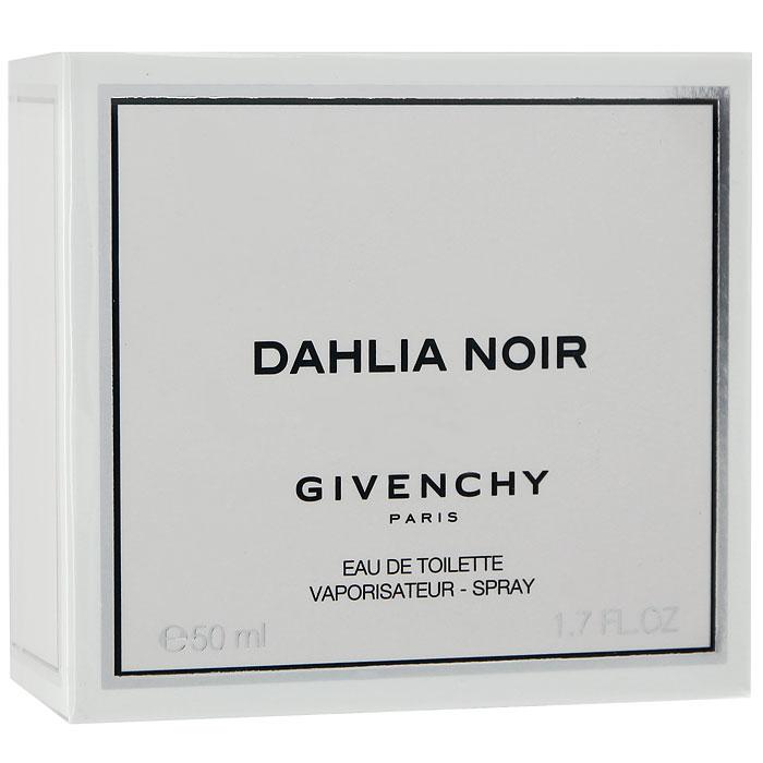 Givenchy DAHLIA NOIR Туалетная вода, женская, 50 мл1301210Givenchy Dahlia Noir - черный георгин, роковой цветок, которого не существует в природе, но который кажется настолько реальным, воплотился в облике таинственного и колдовского Dahlia Noir, волнующего и обольстительного, как сама femme fatale, загадочный и иллюзорный, как и воображаемый цветок черного георгина. Необъяснимый и двойственный женский характер, в котором одновременно уживается невинность и соблазн, хрупкость и сила, так напоминает этот цветок из фантазий - мистический и прекрасный для всех, кто к нему прикоснулся.Классификация аромата: цветочный.Верхние ноты: мандарин, мадагаскарский розовый перец, мимоза.Ноты сердца:ирис, лист пачули, роза.Ноты шлейфа:сандал, ваниль, бобы тонка.Ключевые слова:Страстный, чувственный, чарующий, неповторимый! Характеристики:Объем: 50 мл. Производитель: Франция. Туалетная вода - один из самых популярных видов парфюмерной продукции. Туалетная вода содержит 4-10%парфюмерного экстракта. Главные достоинства данного типа продукции заключаются в доступной цене, разнообразии форматов (как правило, 30, 50, 75, 100 мл), удобстве использования (чаще всего - спрей). Идеальна для дневного использования. Товар сертифицирован.