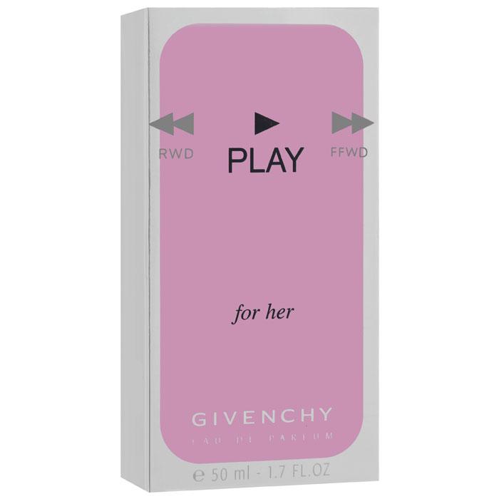 Givenchy PLAY FOR HER Парфюмерная вода, женская, 50 мл1301210Givenchy Play For Her - искренний, искрящийся и чувственный аромат, который предназначен для уверенных в себе, веселых, энергичных молодых девушек.В аромате отчетливо слышны ноты амириса, который представители бренда описывают как сочный, теплый и чуть-чуть похожий на мускус. Амирис растет на карибской земле, где его называют свечным деревом.Классификация аромата: восточный, цветочный.Верхние ноты: розовый перец, белый персик, бергамот, сладкий горошек.Ноты сердца:амирис, цветки Тиары, листья, соцветия магнолии.Ноты шлейфа:сандаловое дерево, мускус.Ключевые слова:Обворожительный, чувственный, искрящийся! Характеристики:Объем: 50 мл. Производитель: Франция. Самый популярный вид парфюмерной продукции на сегодняшний день - парфюмерная вода. Это объясняется оптимальным балансом цены и качества - с одной стороны, достаточно высокая концентрация экстракта (10-20% при 90% спирте), с другой - более доступная, по сравнению с духами, цена. У многих фирм парфюмерная вода - самый высокий по концентрации экстракта вид товара, т.к. далеко не все производители считают нужным (или возможным) выпускать свои ароматы в виде духов. Как правило, парфюмерная вода всегда в спрее-пульверизаторе, что удобно для использования и транспортировки. Так что если духи по какой-либо причине приобрести нельзя, парфюмерная вода, безусловно, - самая лучшая им замена.Товар сертифицирован.